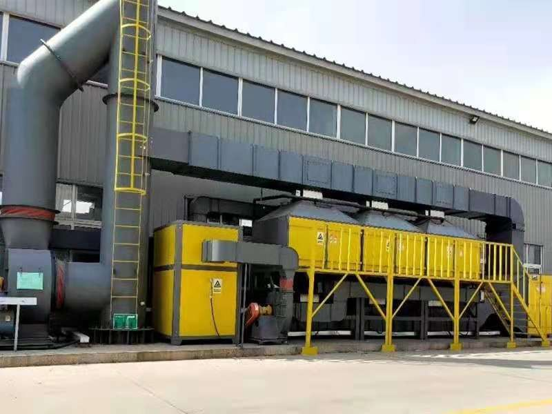 新郑有机工业废气处理设备哪里有品质